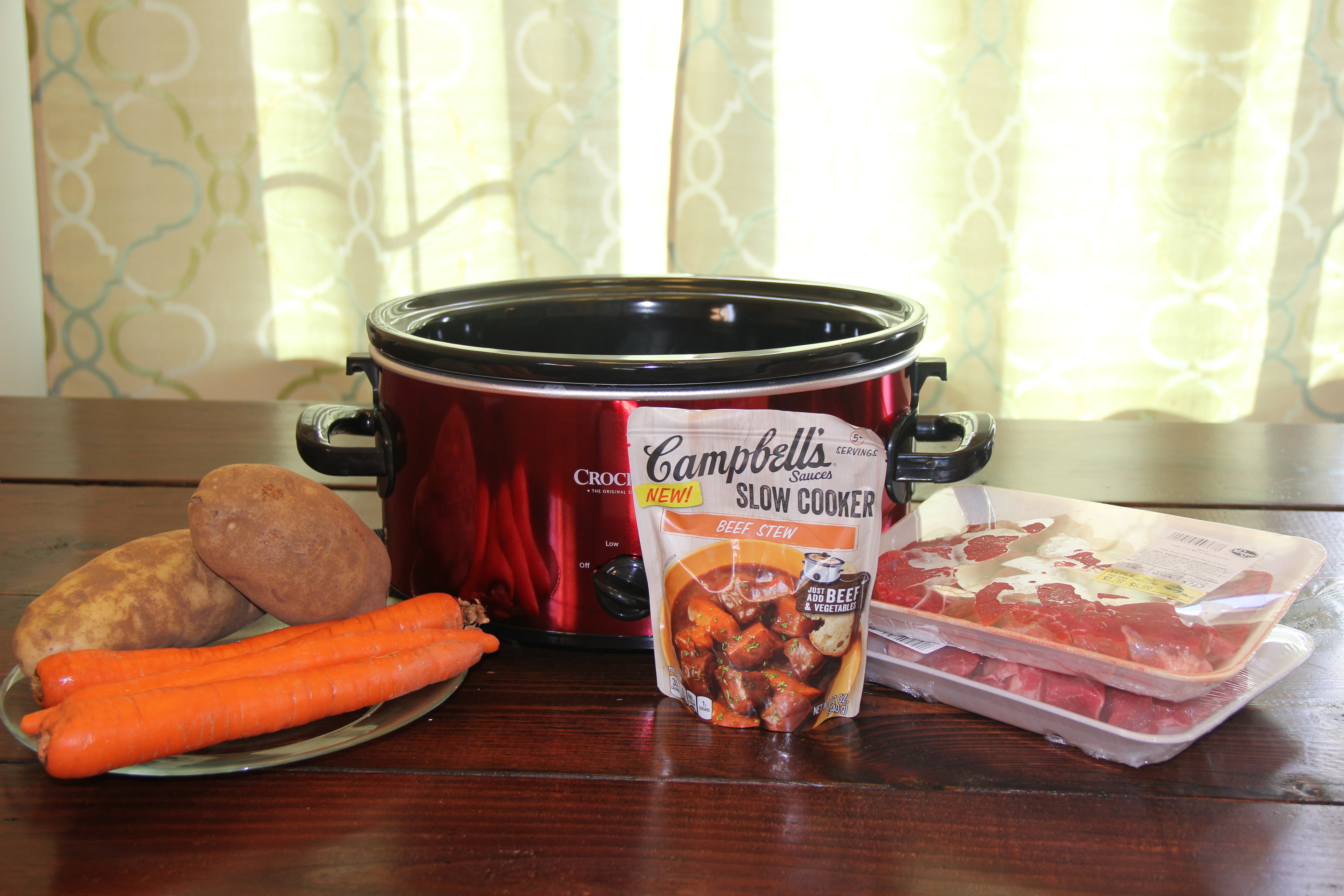 Slow Cooker Beef Stew A Little Moore
