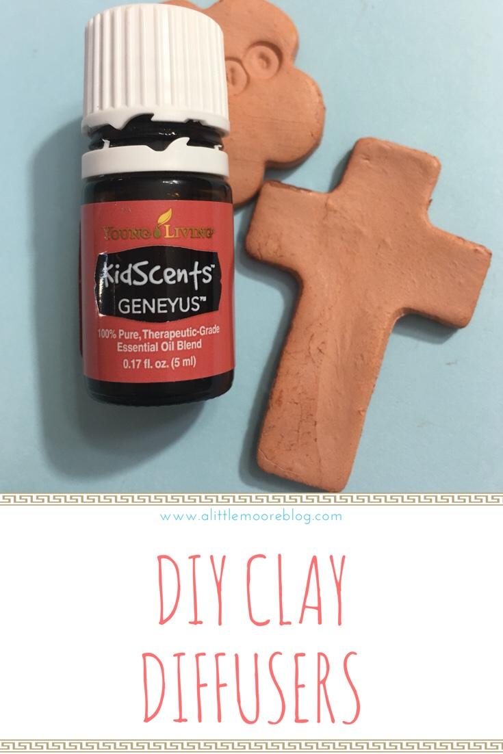 Diy Essential Oil Clay Diffuser Tutorial A Little Moore